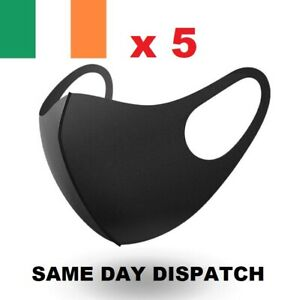 Face-Mask-Reusable-amp-Washable-x-5-Same-Day-Dispatch-Retail-Pack