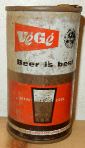 VEGE-BEER-IS-BEST-Flat-Top-Beer-can-from-HOLLAND-34cl
