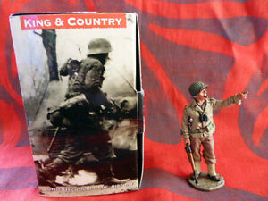 King & Country - D Day Dd069 29th Inf. Div. Brigadier Général Dutch Cota