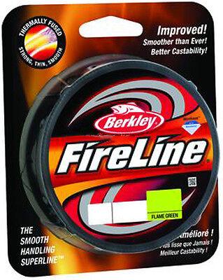 Berkley Fireline Fused Flame Green 125yds! PICK SIZE