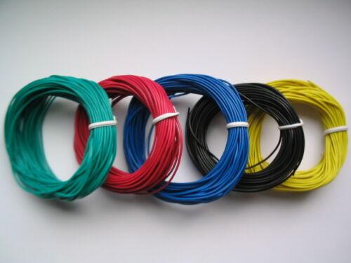 Toron 0,14 anneaux 10 M 9 couleurs au choix 0,10eur//m