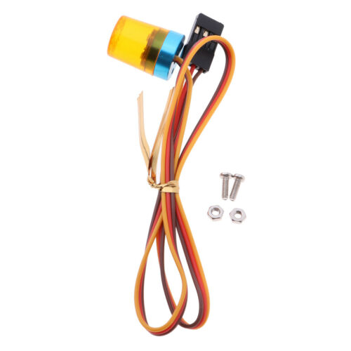 Orange RC Warning Light 4 Modes Birght Lamps for 1//10 Car Parts Accessories