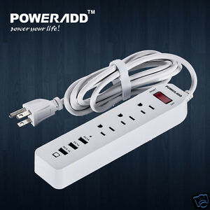 3-USB-Port-3-Outlet-AC-Wall-Power-Strip-Travel-Plug-Adapter