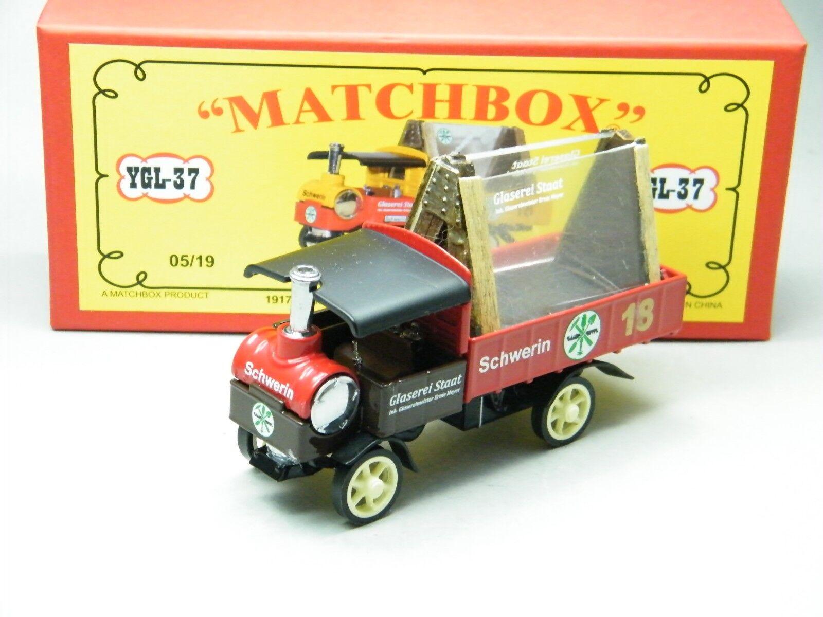 Matchbox MOY code 2  ygl-37 Yorkshire verrerie avec voituregaison ROUGE BOX 1 de 6 NEUF dans sa boîte  vente discount