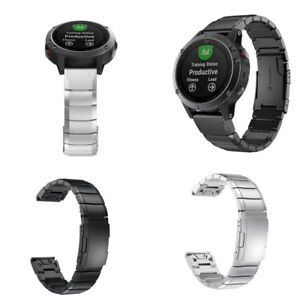 For-Garmin-Fenix-5S-Watch-Stainless-Steel-Bracelet-Quick-Replacement-Band-Strap