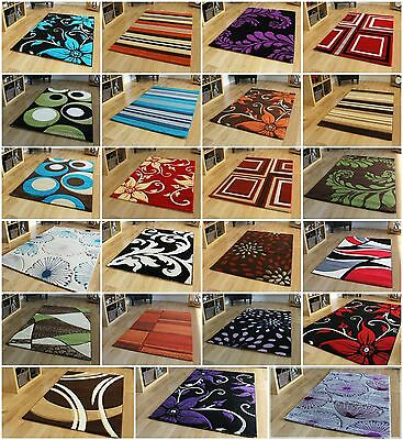 New Modern Thick Quality Carved Rugs Runner Small Medium Large XL Cheap Soft Mat