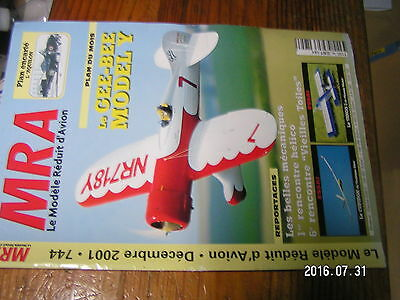 MRA n°744 Plan encarté L/'Aquilon Gee Bee Cupidon Tango 3