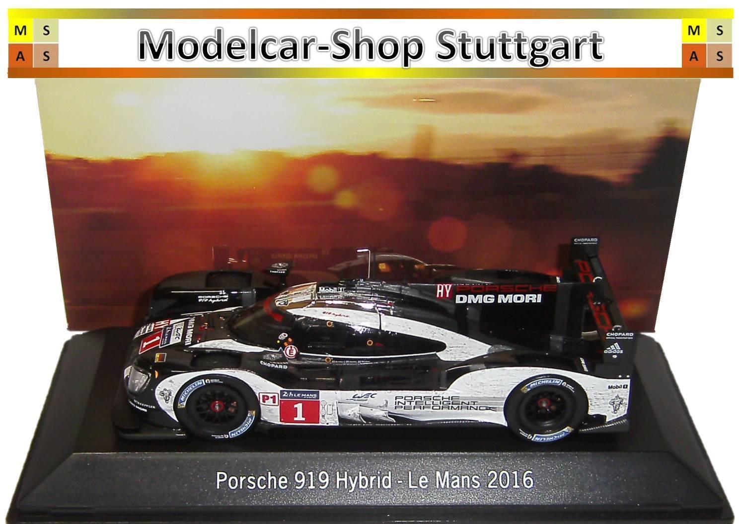 PORSCHE 919 ibrido  1 Le Mans 2016 Dirty Version SPARK 1 43 map02087416 NUOVO
