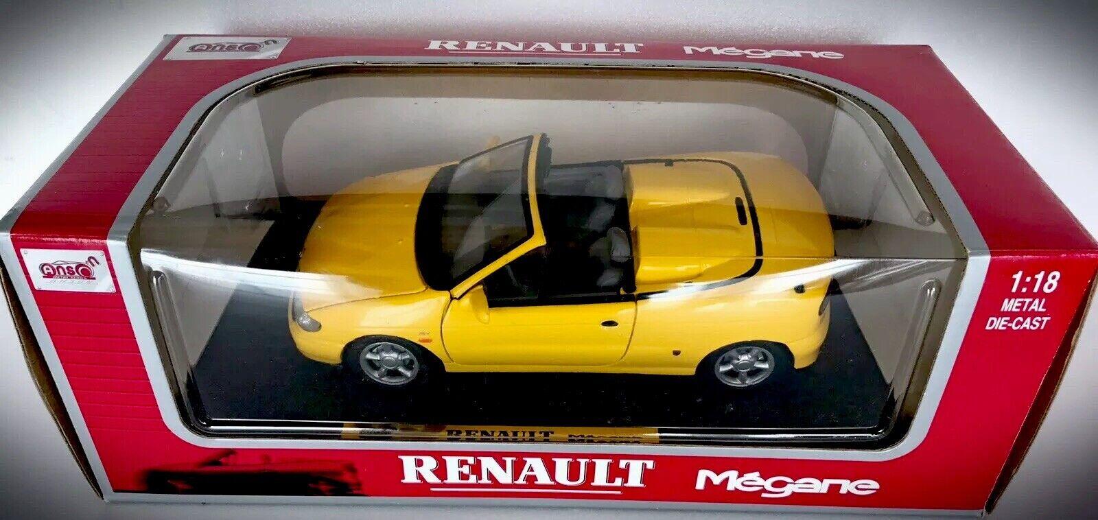 Anson Yellow Renault Renault Renault Megane - 1 18 - 30342 537abf