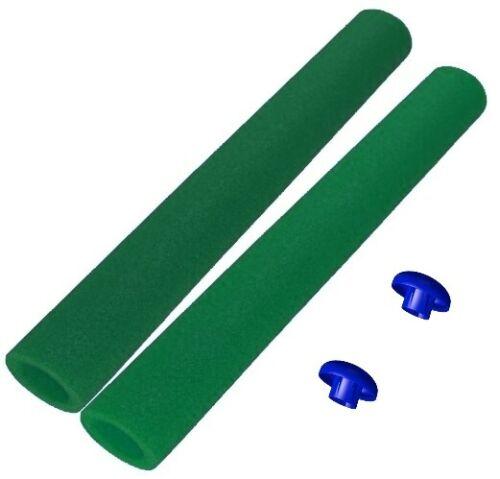 Trampolin Schaumstoff dunkelgrün 82 cm für 6 oder 8 Stangen Sicherheitsnetz