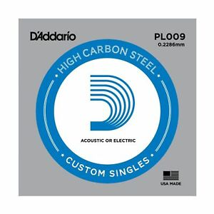 CORDA-D-039-ADDARIO-PL009-PER-CHITARRA-ELETTRICA-O-ACUSTICA-SINGOLA-PLAIN-STEEL-009
