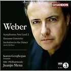 Carl Maria von Weber - Weber: Symphonies Nos. 1 & 2; Bassoon Concerto; Invitation to the Dance (2012)