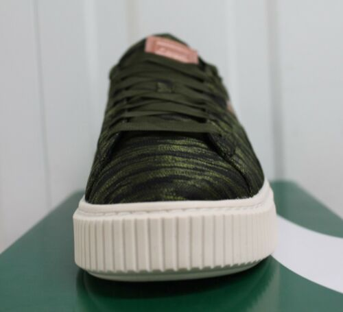 25 Night Basket Women s Vr Puma Bnib Platfoam Olive 88BPq