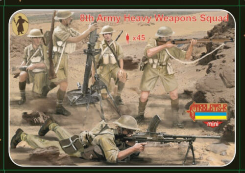 Army heavy weapons squad 1:72 Strelets M132