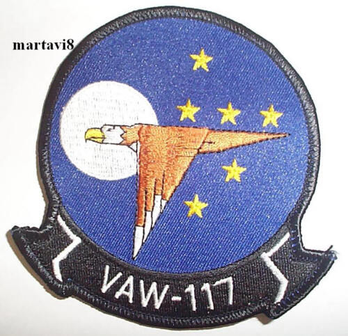 S19 US.Navy `VAW-117` Squadron Badge Patch
