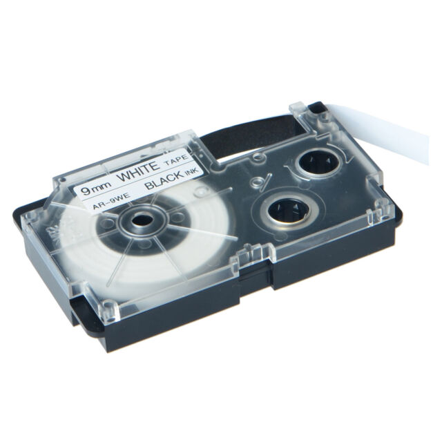 It is a picture of Superb Casio Xr 9we Label Tape