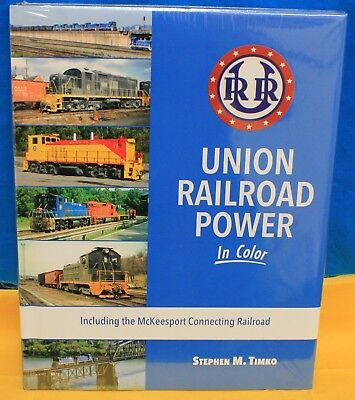 MORNING SUN BOOKS 1651 HC 128 Pages UNION RAILROAD POWER In Color