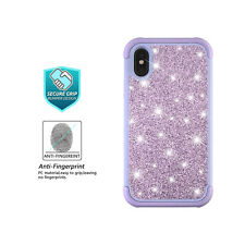 d156b1e0a82 Glitter Bling Hybrid Soft Rubber Silicone Hard Case Cover For iPhone Xs Max  XR X