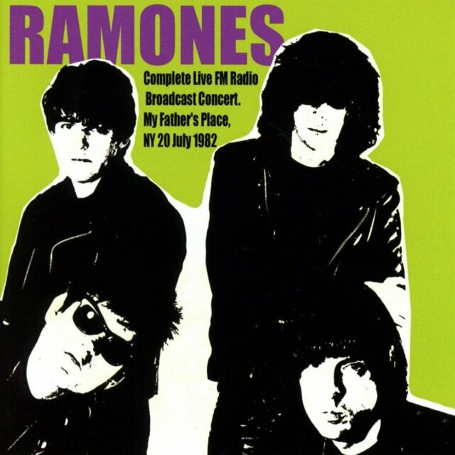 Ramones - My Father's Place, NY, 20 July 1982 (2016)  2CD  NEW  SPEEDYPOST