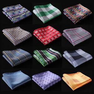 DF-Polka-Dot-Men-Silk-Satin-Pocket-Square-Hanky-Wedding-Party-Handkerchief