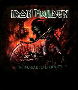 IRON-MAIDEN-cd-cvr-From-Fear-to-Eternity-FEAR-TREE-Official-SHIRT-MED-new