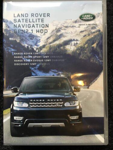 Land Rover USB 2018 Europe Maps Gen 2.1 InControl Touch Plus SAT NAV UPDATE