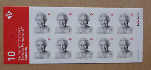 2016-CANADA-QEII-STAMP-BOOKLET-10-MINT-STAMPS