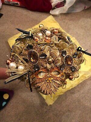 Spilla Oro Bouquet Da Sposa-mostra Il Titolo Originale