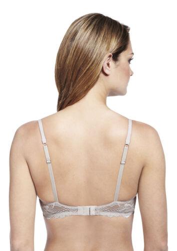 Femmes//Femmes Perfect Fit mousse à mémoire de forme Rembourré T-Shirt Soutien-Gorge A-DD Noir ou Chair