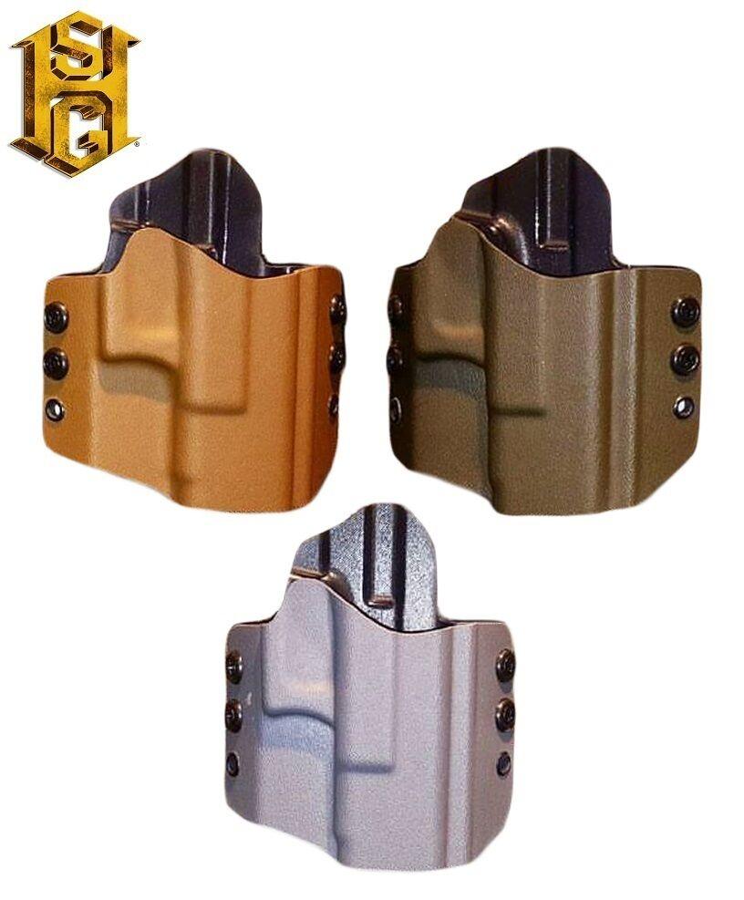HSGI Smith & Wesson M & P extendido diapositiva 9mm .40 owb Holster-Negra-Coyote