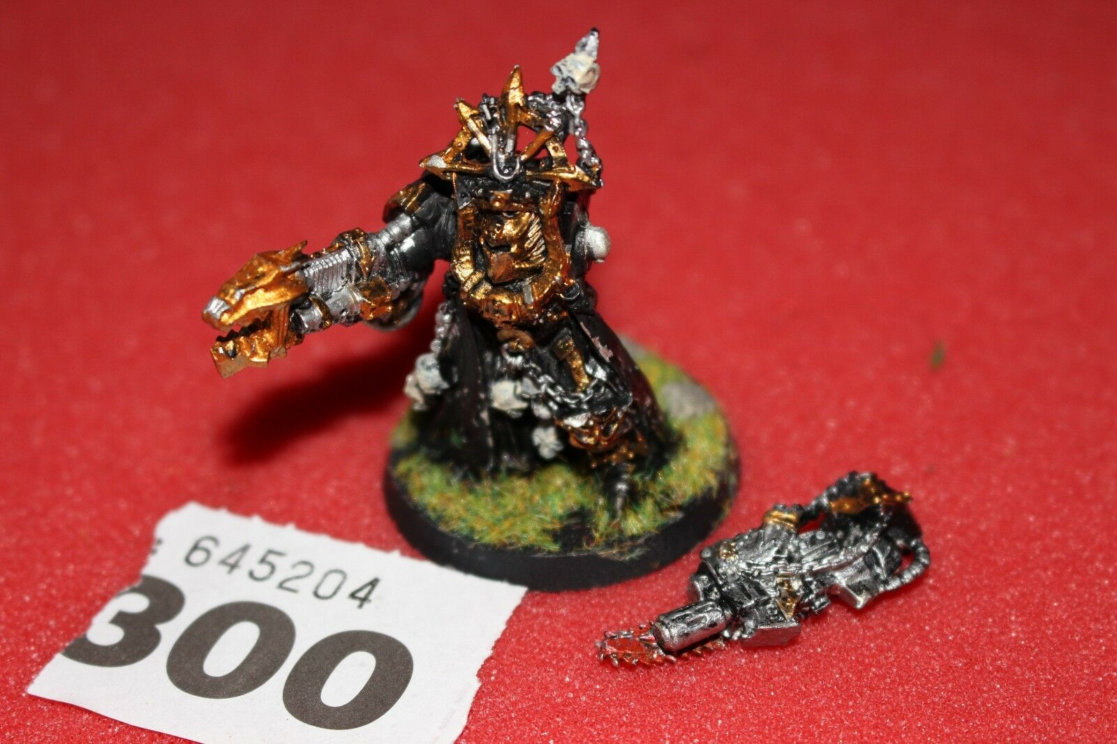 Games Workshop Warhammer 40k Chaos Space Marines Terminator Lord Metal WH40K OOP