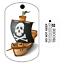 Travel Bug Pour Geocaching-traçable Tag-oléfines Bateau Pirate
