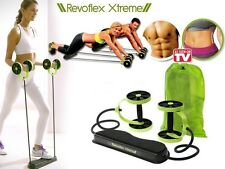 Fitness Revoflex Xtreme Abdominal Trainer ABS Workout KIT Resistance Exercise