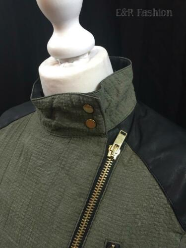 Style With Coat Leather 227 Zara 515 Jacket Blazer Ref Biker Faux Detail 7491 FT15XWpZX