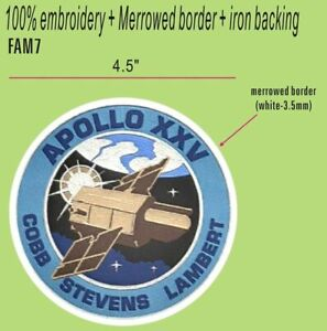 """""""FOR ALL MANKIND"""" TV SHOW - APOLLO 25 PATCH - FAM7"""