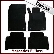 1300g LUSSO SU MISURA tappetini per Mercedes Classe E 2002-2009