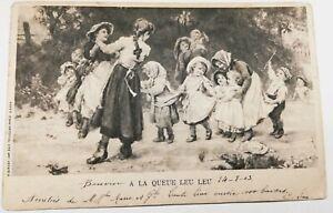 571-Antica-Cartolina-Alla-Coda-Leu-Leu