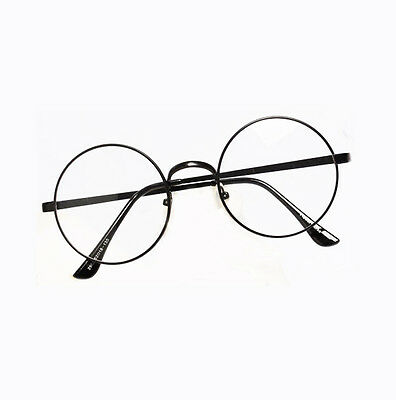 Retro Vintage Round Women Men Eyeglasses Frame Spectacles Plain Glasses Rx 2803