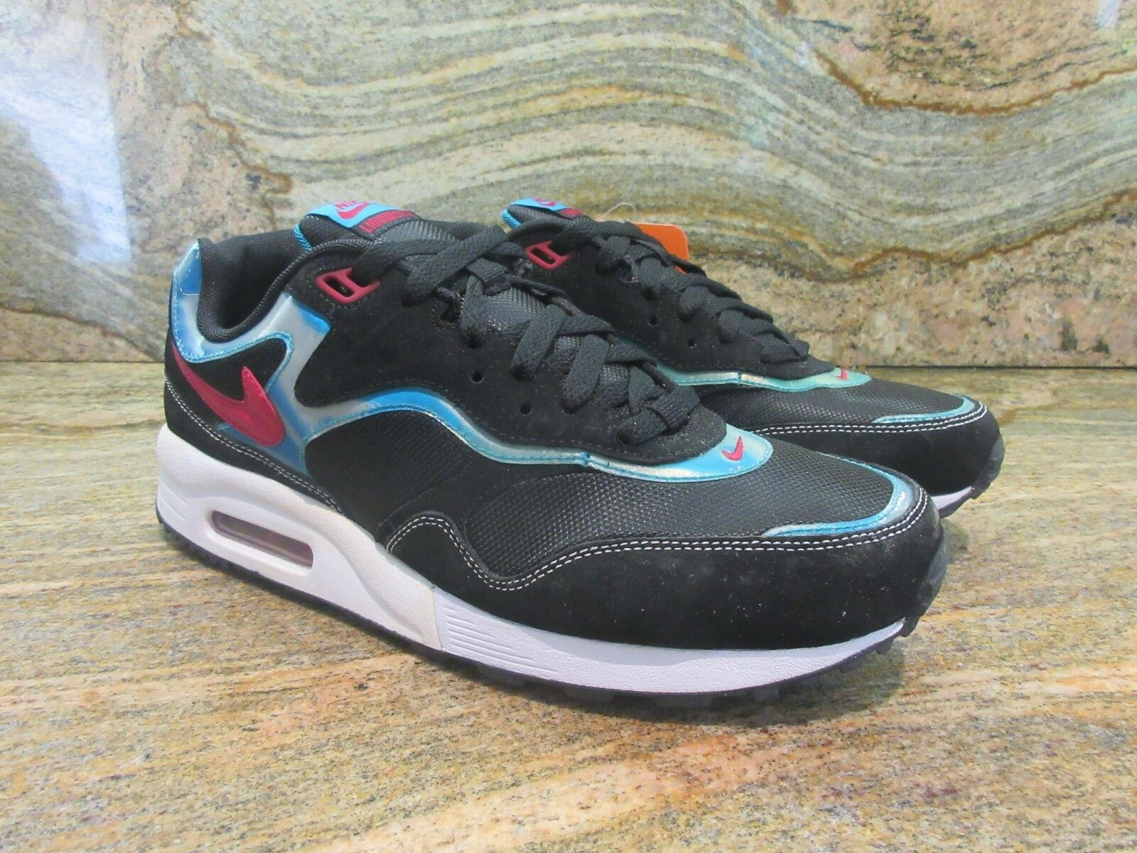 2018 Racer Nike Air Max líquido Racer 2018 muestra Miami South Beach Negro 407613-003 8540d8