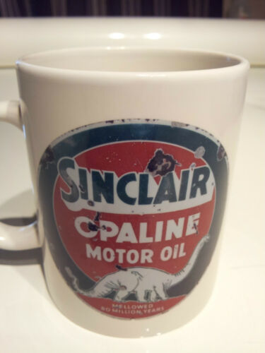 Mobil 1 Gas sign New Vintage COFFEE MUG phillips 66, collectable mobil
