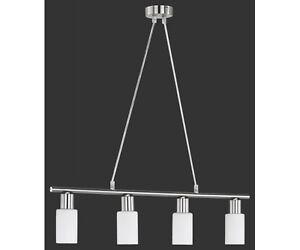 r30014007 pendelleuchte deckenleuchte nickel matt weiss ca 70 cm breit ebay. Black Bedroom Furniture Sets. Home Design Ideas