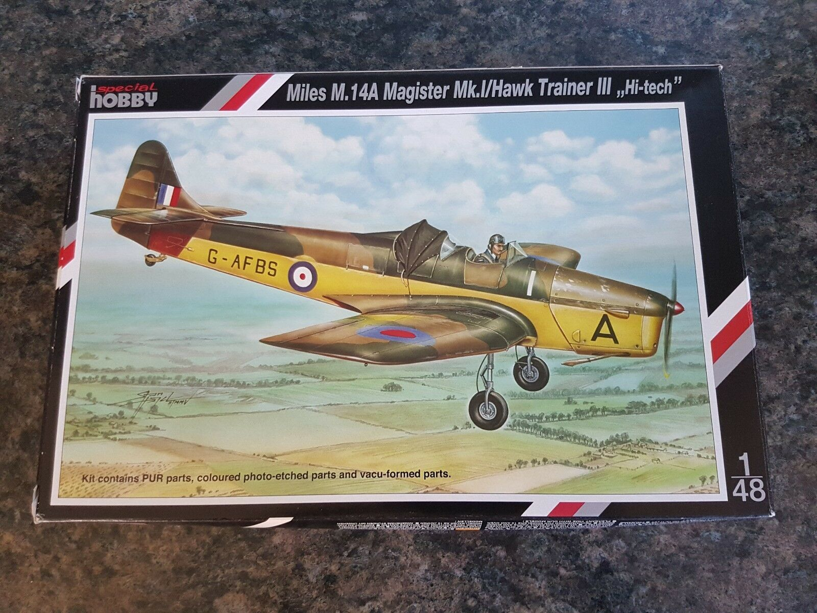 Special Hobby 1 48 Miles M.14A Magister Mk.1 Hawk Trainer Great Condition Rare
