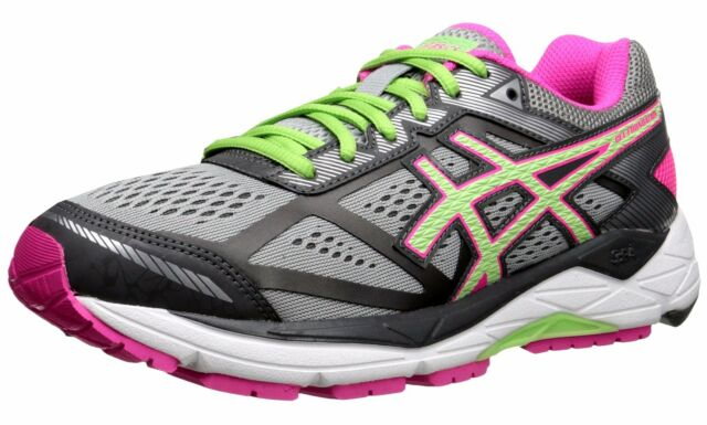 ASICS T5h5n 1087 Foundation 12 Silver Pink Women's Running Shoes Size 7 US