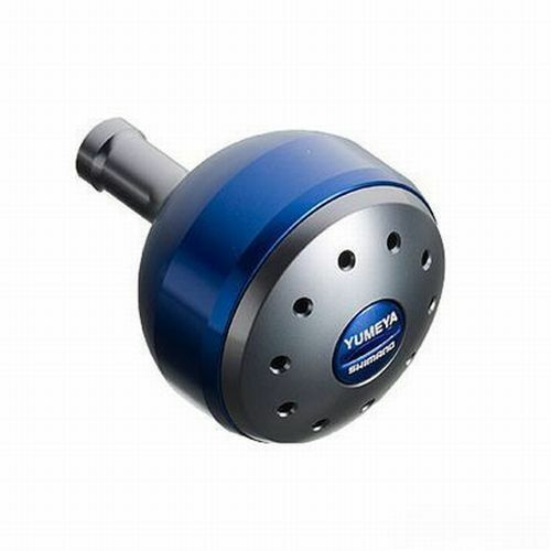Shimano Yumeya ALUMINUM ROUND POWER HANDLE KNOB blueE L Type B