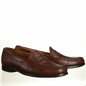 7591b676a61 Image is loading Allen-Edmonds-Cameron-Penny-Loafer-Walnut-Brown-Leather-