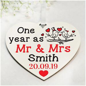 19 Anniversario Di Matrimonio.Personalizzata 1st 10th 25th Anniversario Di Matrimonio Regali Per