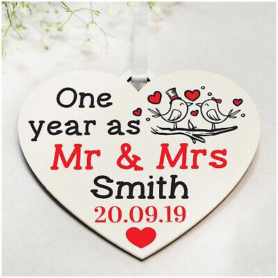 Anniversario Di Matrimonio Regalo Marito.Personalizzata 1st 10th 25th Anniversario Di Matrimonio Regali Per