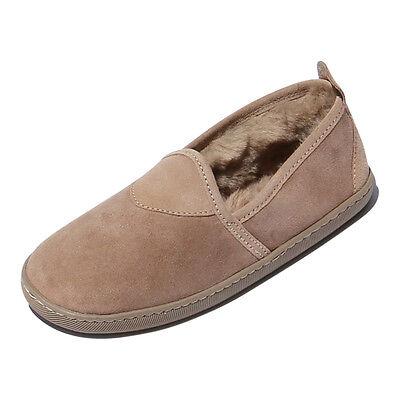 Piel De Cordero Zapatillas - SUSI mujer Zapatos de piel abrigo cuero beige