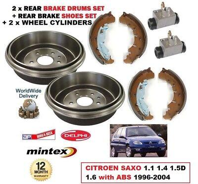 Citroen Saxo 1.6 VTR VTS 1996-2002 Rear Brake Discs /& Pads NEW