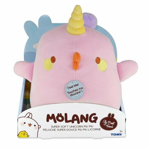 Super Soft Plush 10-Inch Unicorn Piu Piu *BRAND NEW* Molang